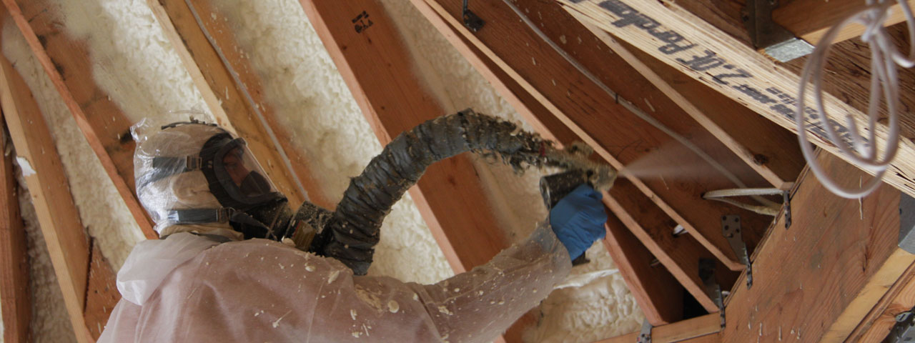 spray foam for attic spaces