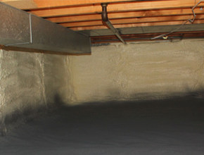 crawl space spray insulation for Washington